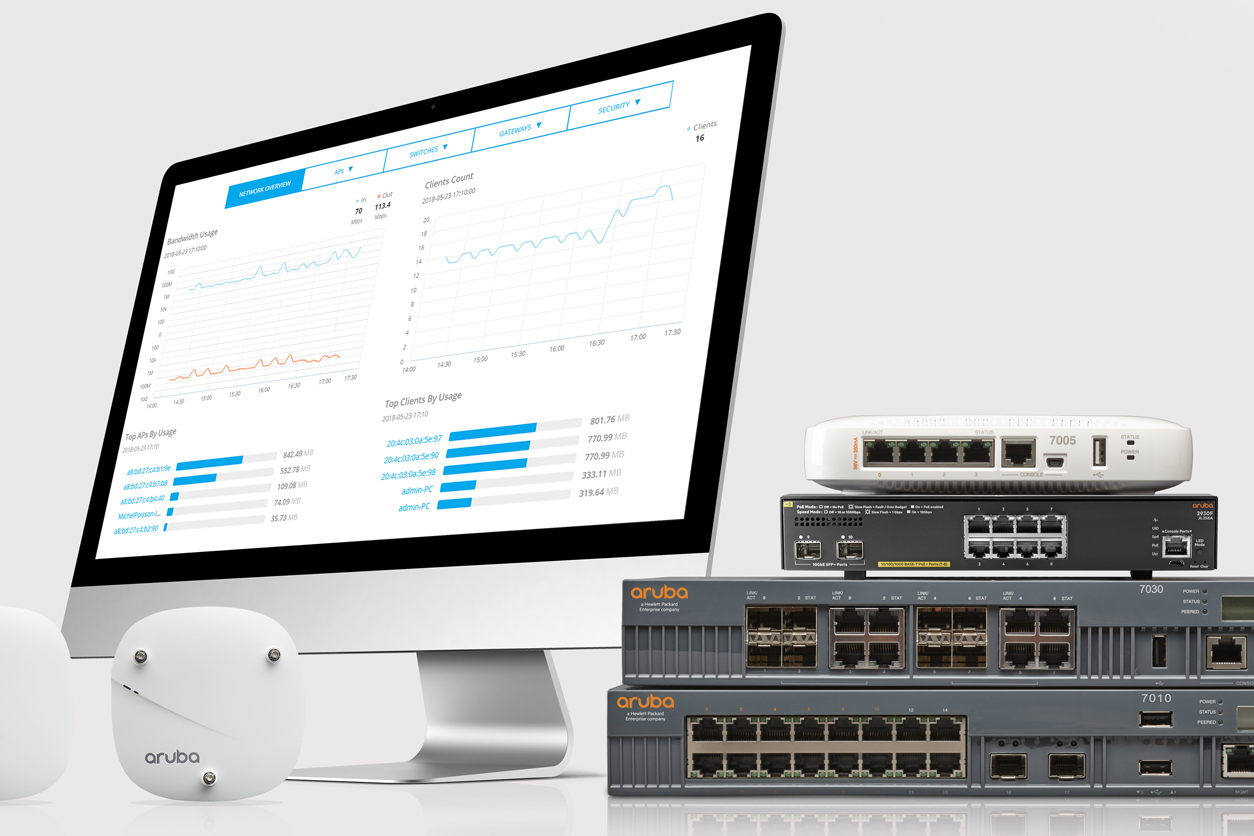 Aruba Introduces Integrated SD-WAN
